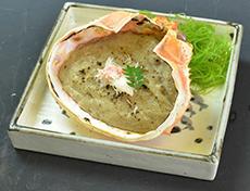 かに味噌甲羅焼き